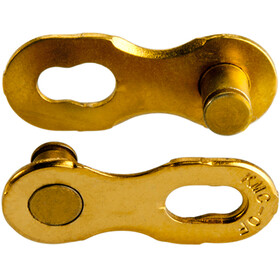 KMC 12NR Ti-N Locking Link 2-Set 12-växlad gold